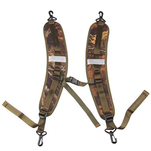WINOMO réglable Sac Sangle rembourrée Sangle d'épaule de remplacement pour sac à dos 59–92 cm