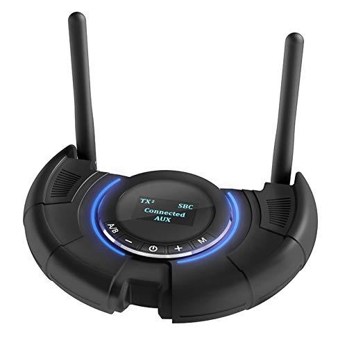 Convertidor de Audio transmisión Estable 5,0 transmisor Receptor App Control CSR8675APTX LL para proyector de computadora de Escritorio