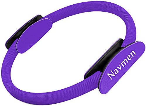navmen Pilates Ring Yoga Fitness Magic Circle Full Body Toning Fitness Body Ring Training Leg product image