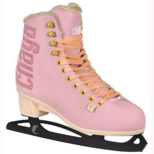 chaya Damen Bubble Gum Schlittschuhe, Pastell Pink, 40