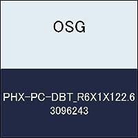 OSG 超硬ボール PHX-PC-DBT_R6X1X122.6 商品番号 3096243
