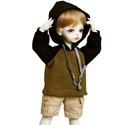 BJD Doll 10 Inch 1/6 SD Dolls for Age 3 4 5 6 7 Years Old Kids Dolls for Girls Baby Cute Doll Toy with Clothes and Shoes Birthday Gift for Girls - Iris Toys