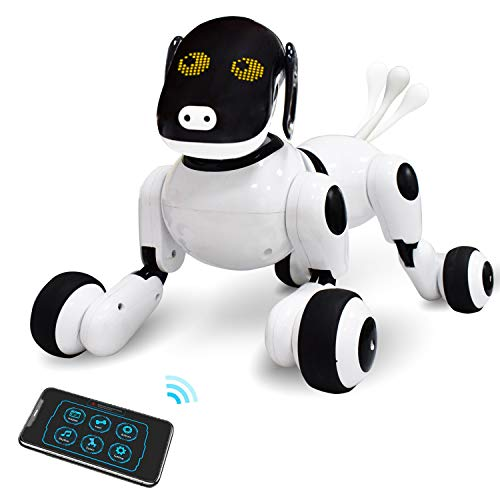 PARENTS LOVE PUPPY SMART - The best of its kind, the Smart Puppy Robotic Pet for Kids uses toys of the past to introduce technology of the future. This smart dog includes the PuppyGo app in addition to the hundreds of features like voice recognition,...