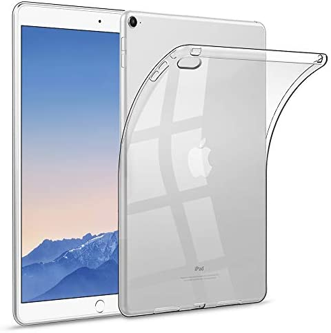 HBorna Clear Soft Case for iPad Air 2 9 7 2014 Release Ultra Slim Transparent Silicone Back product image
