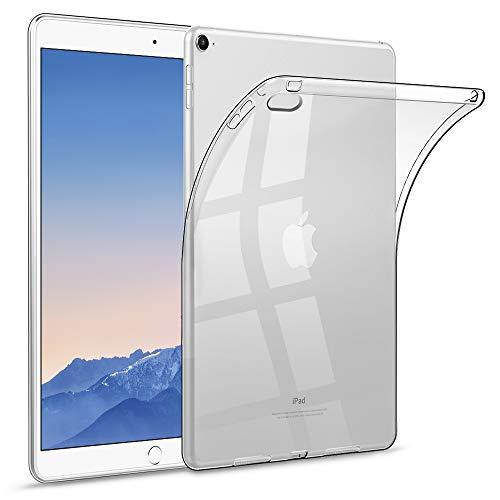 HBorna Custodia Cover per iPad Air 2 (2014), Custodia Protettiva in Silicone TPU Clear Ultra Sottile Custodia Protettiva per Apple iPad Air 2 (Modello: A1566 / A1567), Trasparente