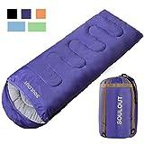 Best Sleeping Bags - Envelope Sleeping Bag - 4 Seasons Warm Cold Review