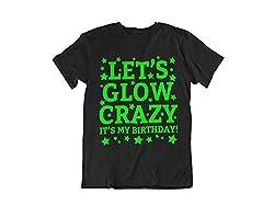 Glow In The Dark It's My Birthday Short Sleeve T-Shirt