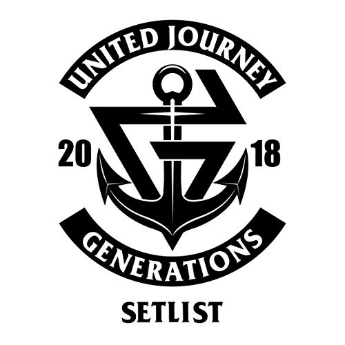 [Album]GENERATIONS LIVE TOUR 2018 UNITED JOURNEY SET LIST - GENERATIONS from EXILE TRIBE[FLAC + MP3]