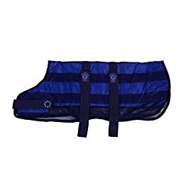 Animate Cooling Dog Coat and Bag, 2X-Large, 28-Inch, Navy