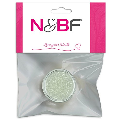 Nail Art MicroBeads White de pour Full Cover Model couches & individuelle Nail Art Design Motif