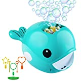 Juboury Bubble Machine, Automatic Bubble Blower for Kids, Bubble...
