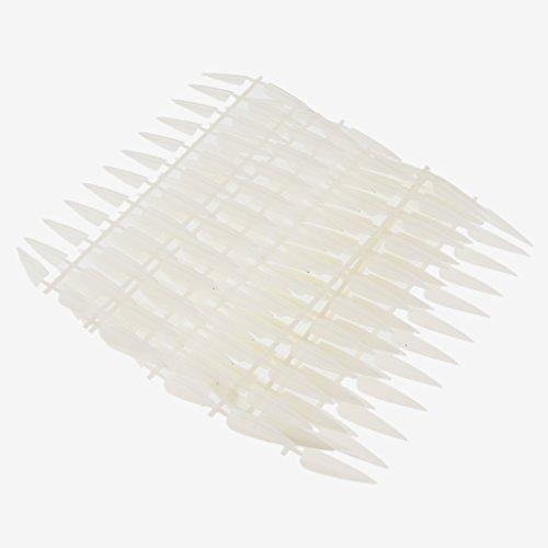 Sharplace 240 Pièces Faux Ongles en Plastique Opaque Décoration pour Bricolage