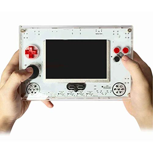 Riva776Yale 32GB Open Source Console Retro Arcade Game Player Game Machine for Raspberry Pi 3B+ Motherboard