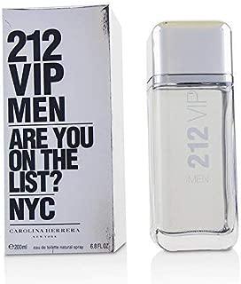 Carolina Herrera 212 Vip Eau de Toilette Spray for Men, 6.75 Ounce