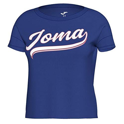 Joma - Camiseta BOU Algodon Royal Mujer Hombre Color: Azul Royal Talla: XS