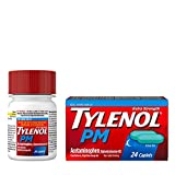 Tylenol PM Extra Strength Pain Reliever & Sleep Aid Caplets, 500 mg Acetaminophen, 24 ct