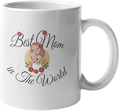 's Werelds beste moeder Moederdag cadeau cadeau koffie thee warme chocolade 11 oz keramische nieuwigheid mok