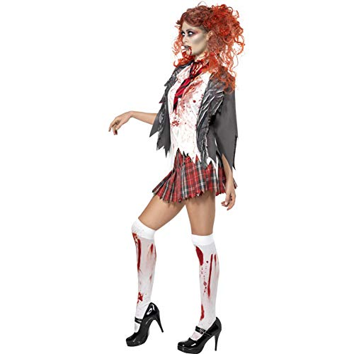 Costume d'ecoliere zombie s
