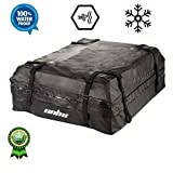 LUVODI Car Roof Bag 425 Litres (15 Cubic Feet) Waterproof Cargo Boxes Car