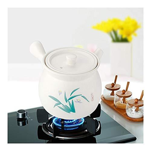 Cacerolas Multipropósito 3.5L rápida Calefacción cazuela de utensilios de cocina con estilo abierto fuego directo Burning plato de la cazuela La sartén no tóxico No Warping cazuela de sopa de olla for