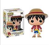 Figuras De Anime De Vinilo Pop One Piece Monkey D. Luffy # 98 con Caja Figura De Acción Juguetes Colección Modelo De Juguete para Niños 10Cm