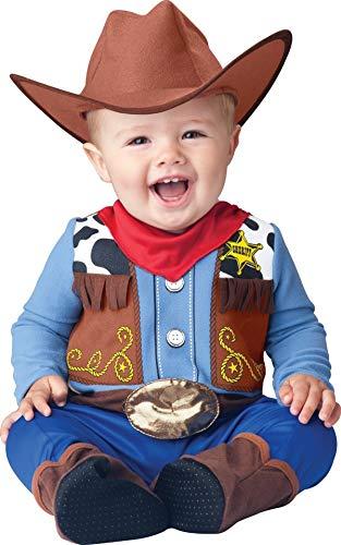Deluxe Baby Jungen Wee Wrangler Cowboy Wilder Westen büchertag Halloween Charakter Kostüm Kleid Outfit - Multi, Multi, 6-12 Months