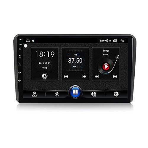 ADMLZQQ Android 10.0 Autoradio 9'' Radio In-Dash Bluetooth Carplay para Audi A3 2006-2012,Autoradio Soporte 5Ghz WiFi GPS Mandos De Volante Cámara Trasera 1280 * 720P Enlace Espejo,7731,1G+16G