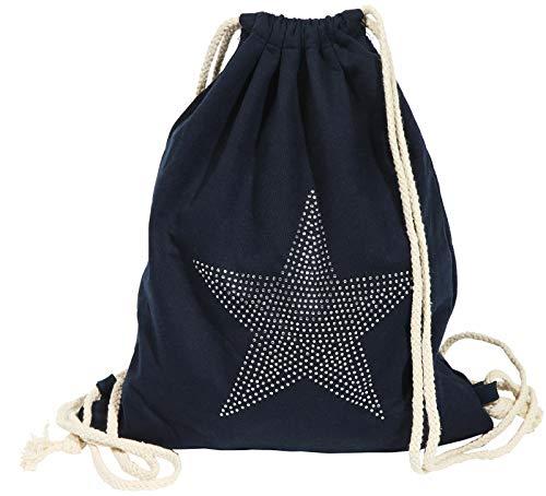 Gym Bag Sylt Star Blau der Hipster Rucksack - Daypack Brotbeutel Turnbeutel
