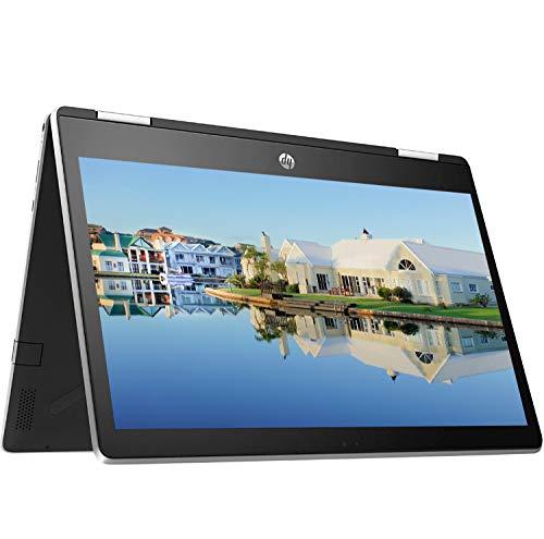 HP Flagship X360 11 2020 Newest 2 in 1 Laptop I 11.6' HD IPS Touchscreen I Intel 4-Core Pentium Silver N5000 I 4GB RAM 128GB eMMC I B&O HD Camera Win10 + Delca 16GB Micro SD Card