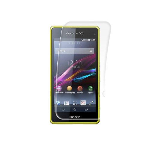 Brando Premium Tempered Glass - Protección para pantalla (rounded edition) para Sony Xperia Z1 Compact/Z1F