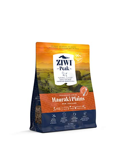 ZIWI Peak Provenance Air-Dried Dog Food – All Natural, High Protein, Grain Free with Superfoods (Hauraki Plains, 2lb)