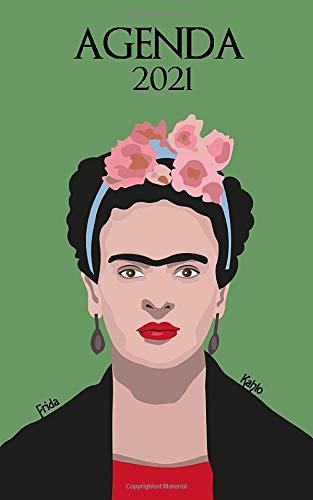 Agenda 2021: Weekly calendar planner Frida Kahlo