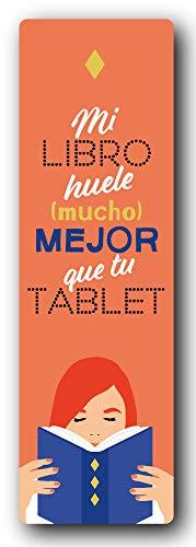 Alma,  Marcapáginas - Mi libro huele mucho mejor que tu tablet