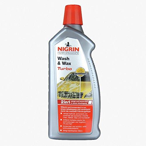 Nigrin Autoshampoo 1L Wasch&Wachs Autowäsche Autopflege Shampoo Autowaschmittel