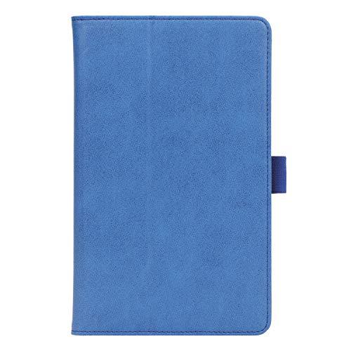 ISIN Premium PU-Leder Schutzhülle Tasche Stand Cover für Huawei Mediapad M6 8 8.4 2019 VRD-AL00 VRD-W09 VRD-AL09(Nicht für M5 8.4, M3 8.4,M6 10.8) 8,4-Zoll-Android-Tablet-PC(Blau)
