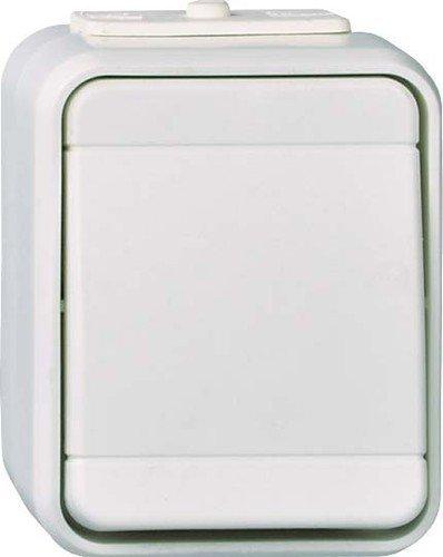 Elso Universalschalter 441602 10A AquaTop sepiabraun Universal Schalter 6.10A. Steckklemme ATO, sepiabaraun