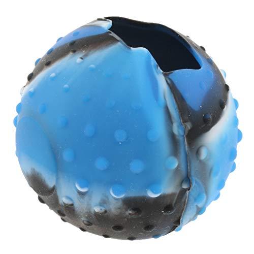 Capa para Pokeball Plus para Nintendo Switch Joy-con camuflagem azul
