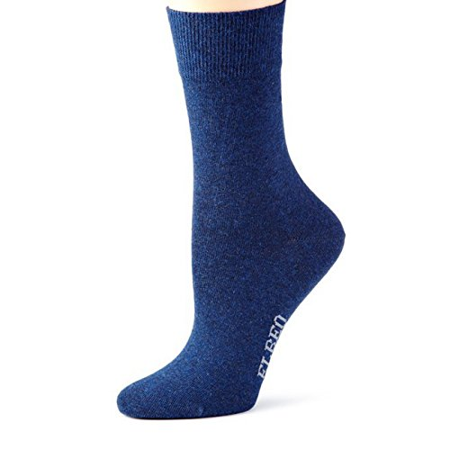ELBEO Damen Socken Sensitive Pure Cotton 2er Pack