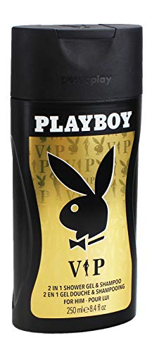 3x Playboy VIP Full Body Showergel & Shampoo je 250ml for men Duschgel Shampoo