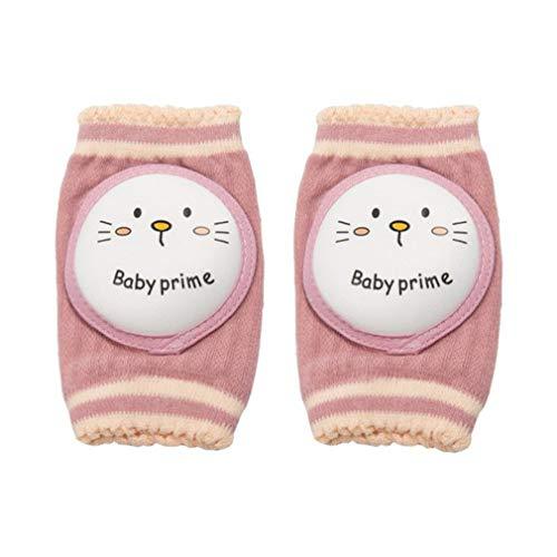 Verano Lindo Animal de Dibujos Animados bebé Rodilleras Calidad algodón Suave recién Nacido piernas (Gato)