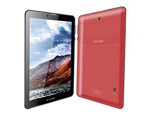 InnJoo Tablet 7' IJ-F704, 3G, Android 6, 1Gb RAM, 16Gb Memoria Interna, Color Rojo