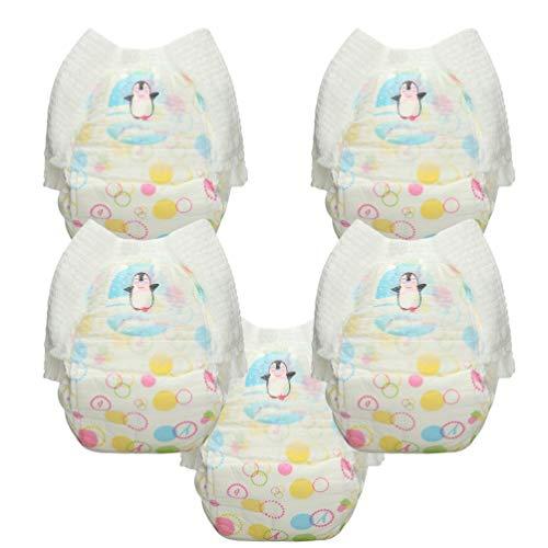 Healifty 5 Stück Schwimmwindeln Einweg-Schwimmer Babywindeln Schwimmbad Wasser Windelhose für Baby - Größe Xxl