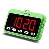 Digitaler Timer mit großem klarem Display, Count-Down/Stoppuhr-Funktion, magnetische Rückseite, batteriebetrieben, einfach zu bedienen