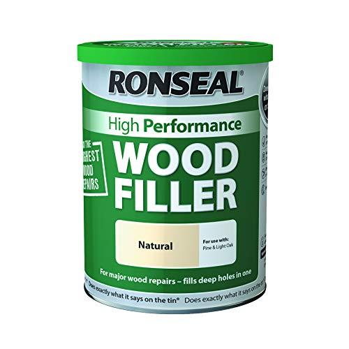 Ronseal High Performance Wood Filler - Natural 1Kg