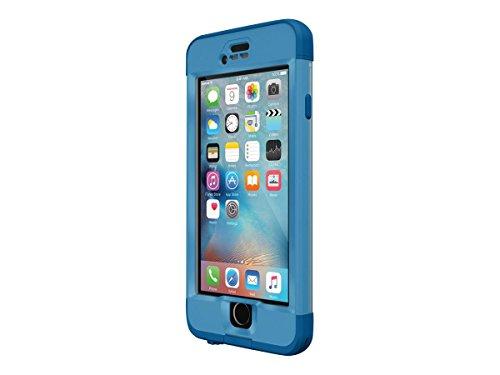 Lifeproof NÜÜD SERIES iPhone 6s Plus ONLY Waterproof Case - Retail Packaging - CLIFF DIVE (BEACHY BLUE/CLEAR/STORMY SEAS BLUE)