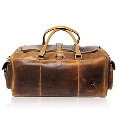Leder Reisetasche Groß
