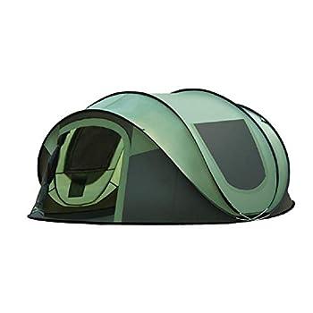 ultralégère instantanée Pop-Up Exterieur Bivouac Tente?Etanche?festival?Voyage?plageTente de Camping extérieure Ouverte Rapide pour 3 à 4 Personnes