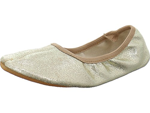 Beck Damen Basic Gymnastikschuhe, Gold (Gold 14), 39 EU