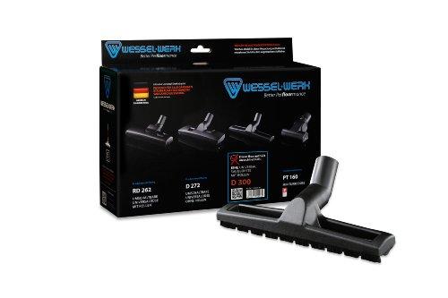 Wessel 12.9 047-92 Saugbürste Universal, geeignet für alle alle Bodenbeläge auch Teppiche für Trocken und Nasssaugen Modell D 300