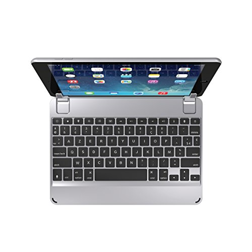 BRYDGE 9.7 Wireless Keyboard | Compatible with iPad 9.7-inch 6th Gen (2018) | (Space Gray) (French Layout)